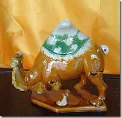 Tang Sancai Art – A Quite Symbolizing Camel!