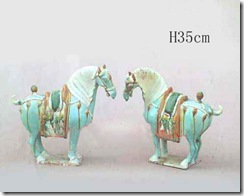 Tang Sancai Art – A Delicately Decorated Horse